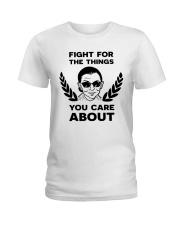 RBG fight pattern mug Ladies T-Shirt thumbnail