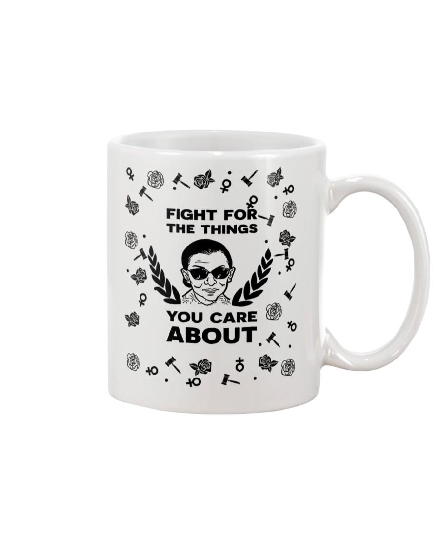 RBG fight pattern mug Mug