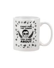 RBG fight pattern mug Mug front