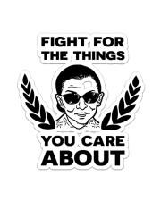RBG fight pattern mug Sticker - Single (Vertical) thumbnail