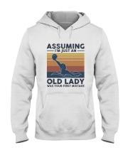 Water Polo Assuming Lady Hooded Sweatshirt thumbnail