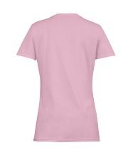 Water Polo Assuming Lady Ladies T-Shirt women-premium-crewneck-shirt-back
