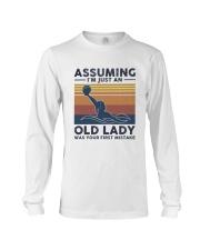 Water Polo Assuming Lady Long Sleeve Tee thumbnail