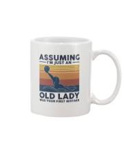 Water Polo Assuming Lady Mug thumbnail