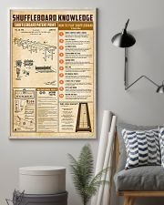 Shuffleboard knowledge 11x17 Poster lifestyle-poster-1