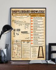 Shuffleboard knowledge 11x17 Poster lifestyle-poster-2