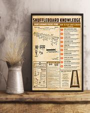 Shuffleboard knowledge 11x17 Poster lifestyle-poster-3