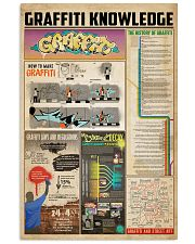 Graffiti knowledge 11x17 Poster front