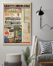Graffiti knowledge 11x17 Poster lifestyle-poster-1