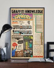 Graffiti knowledge 11x17 Poster lifestyle-poster-2