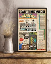 Graffiti knowledge 11x17 Poster lifestyle-poster-3