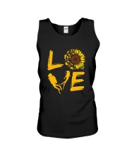 Scuba Diving Love Sunflower Unisex Tank thumbnail
