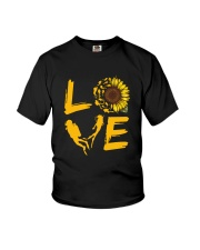 Scuba Diving Love Sunflower Youth T-Shirt thumbnail