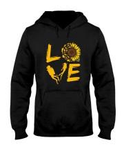 Scuba Diving Love Sunflower Hooded Sweatshirt thumbnail
