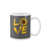 Scuba Diving Love Sunflower Mug thumbnail