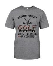Golf Weekend Forecast Classic T-Shirt thumbnail