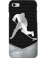 Hockey Metal Print case Phone Case i-phone-8-case