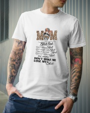 Mom Don't Make Me Lose Classic T-Shirt lifestyle-mens-crewneck-front-6