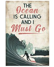 Surfing Calling Must Go 11x17 Poster front