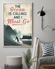 Surfing Calling Must Go 11x17 Poster lifestyle-poster-1