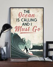 Surfing Calling Must Go 11x17 Poster lifestyle-poster-2
