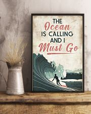 Surfing Calling Must Go 11x17 Poster lifestyle-poster-3
