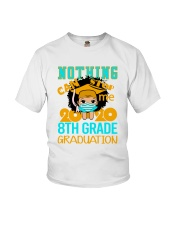 8th White Girl Nothing Stop Youth T-Shirt front