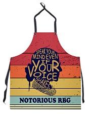 RBG vintage color apron Apron front