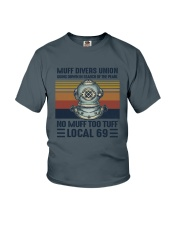 Muff divers union Youth T-Shirt thumbnail