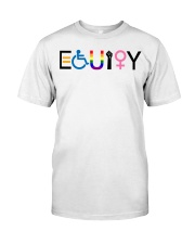 Equity sticker Classic T-Shirt tile