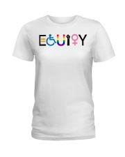 Equity sticker Ladies T-Shirt thumbnail