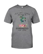 Gymnastics Simple Woman Classic T-Shirt thumbnail