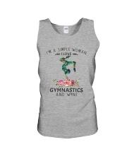 Gymnastics Simple Woman Unisex Tank thumbnail