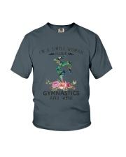 Gymnastics Simple Woman Youth T-Shirt thumbnail