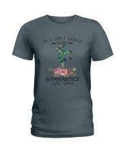 Gymnastics Simple Woman Ladies T-Shirt tile
