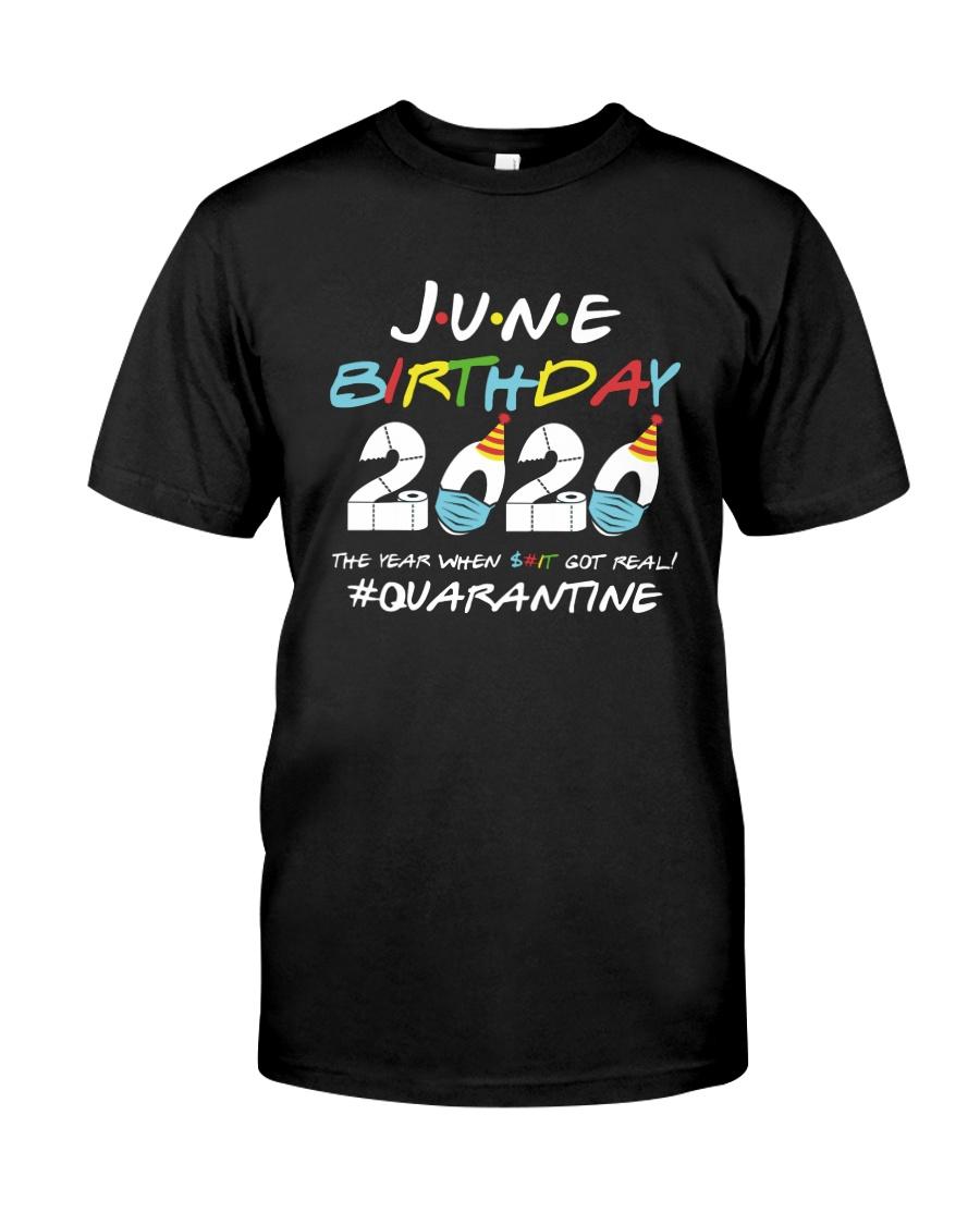 June Got Real Color Classic T-Shirt