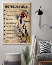 Mountain Biking life lessons 11x17 Poster lifestyle-poster-1