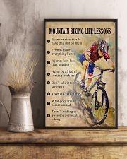Mountain Biking life lessons 11x17 Poster lifestyle-poster-3