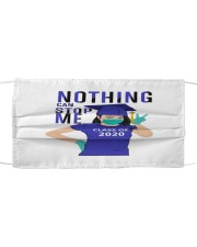 hite Girl Nothing Can Stop Me Cloth face mask thumbnail