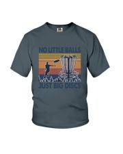 Disc Golf Retro Youth T-Shirt thumbnail