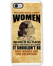 RBG women belong poster Phone Case thumbnail