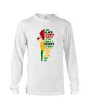 I Am Black Strong Long Sleeve Tee thumbnail