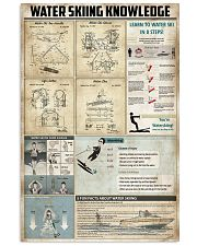 Water Skiing Knowledge 11x17 Poster front