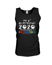 6th Birthday 2020 color Unisex Tank thumbnail