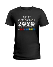 6th Birthday 2020 color Ladies T-Shirt tile