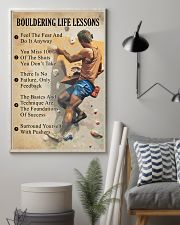 Bouldering life lessons 11x17 Poster lifestyle-poster-1