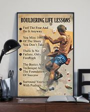 Bouldering life lessons 11x17 Poster lifestyle-poster-2
