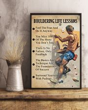 Bouldering life lessons 11x17 Poster lifestyle-poster-3