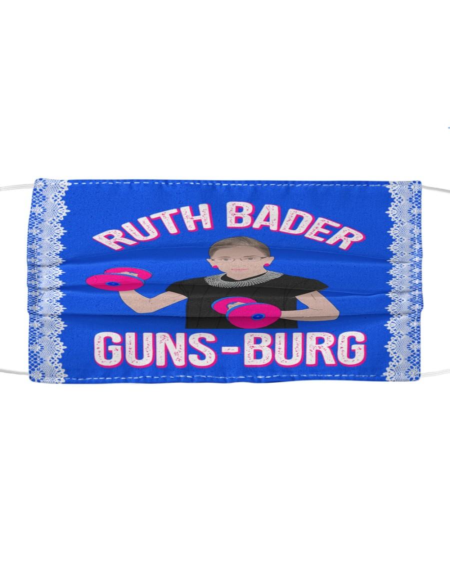 RBG guns-burg Cloth face mask