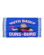 RBG guns-burg Cloth face mask front